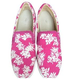 UGG Limited Edition Floral Slip on Sneakers